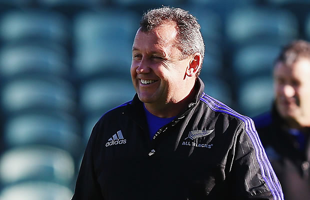 Ian Foster has re-signed with the New Zealand Rugby Union
