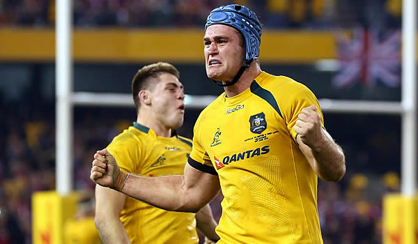 James Horwill has been named in the Australia training squad