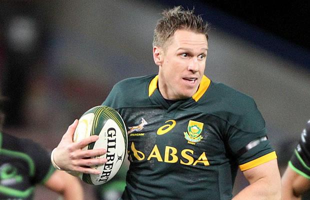 Jean De Villiers returns to captain South Africa against Japan