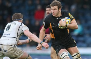 Joe Launchbury will captain Wasps