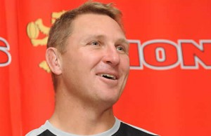 Lions head coach Johan Ackermann