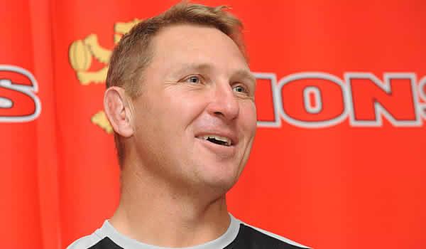 Lions head coach Johan Ackermann
