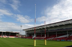 Gloucester Rugby host Northampton Saints at Kingsholm
