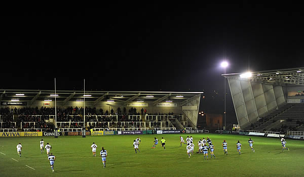 Newcastle Falcons host Worcester Warriors at Kingston Park