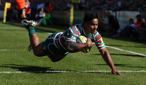 Manu Tuilagi is staying with Leicester Tigers