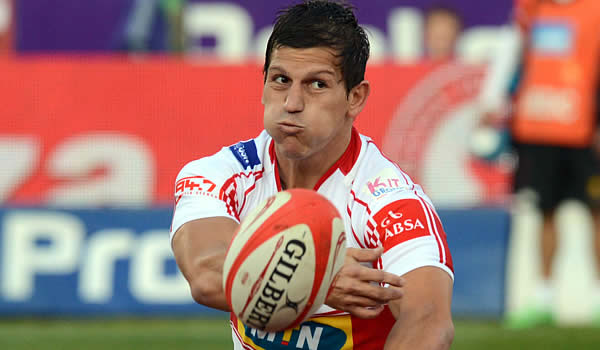 Marnitz Boshoff comes into the Golden Lions starting line up