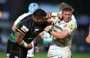 Salesi Ma'afu was involved in a punch up when he was Northampton Saints