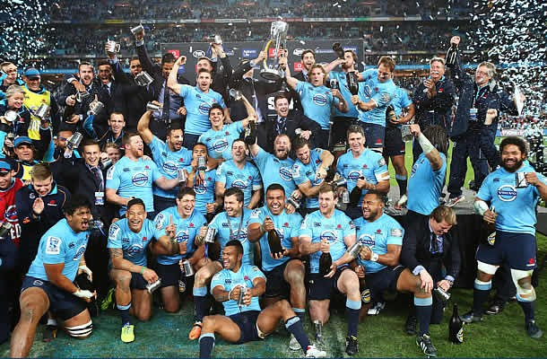 The Waratahs won a Super Rugby title in 2014