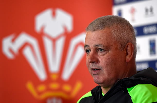 Warren Gatland has named his Wales team to play Ireland in the Six Nations