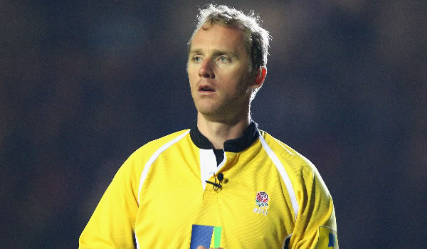Wayne Barnes will be in charge of Wales v South Africa